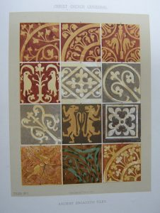Christ Church Cathedral Dublin. Medieval Tile Pattern Book