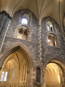 Christ Church Cathedral. South Transept east elevation