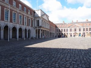 Dublin Castle. Upper Yard. South Elevation of State Appartments