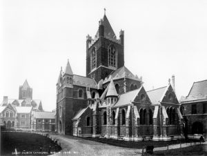 Christ Church Cathedral Dublin following Street;'s Restoration