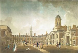 Dublin Castle Upper Yard. James Malton