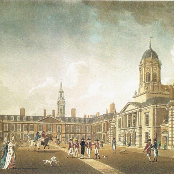 Dublin Castle Upper Yard. James Malton