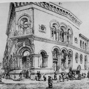 Munster Bank. Dame Street 1875