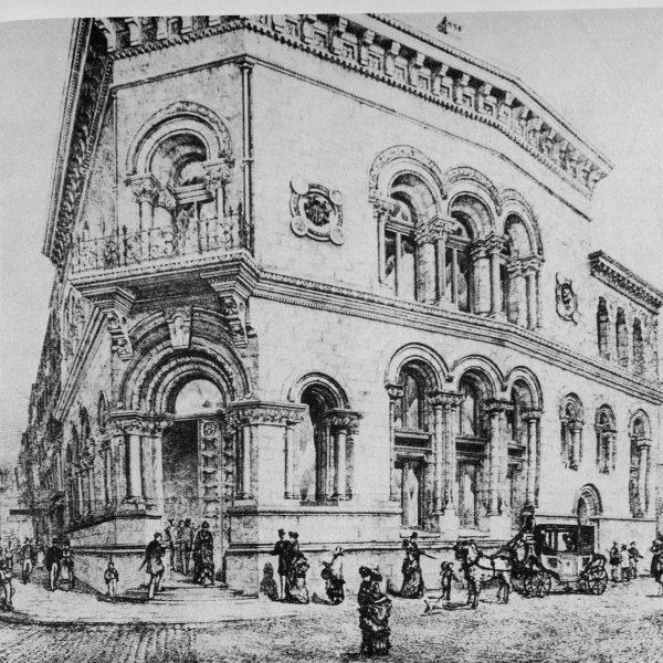 Munster Bank. Dame Street 1875